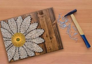 Atelier- Art de la ficelle (string art), avec Les ateliers ArtisCréatifs