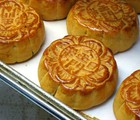 Chinese tea and pastries