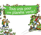 Everyone united for a green planet