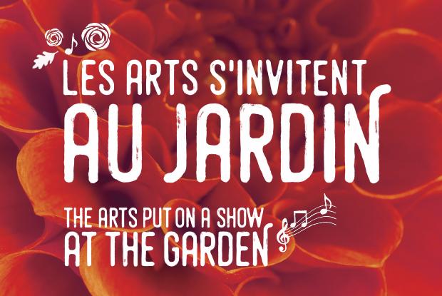 Les arts s'invitent au Jardin