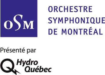 Logos Orchestre Symphonique de Montréal et Hydro-Québec