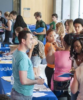 Accueil personnalisé des nouveaux étudiants étrangers pour le trimestre d'automne 2015