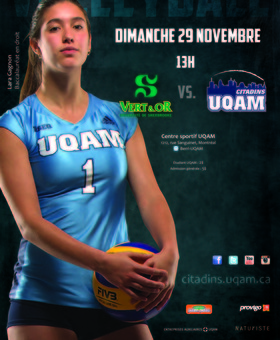 Volleyball : U. de Sherbrooke vs UQAM