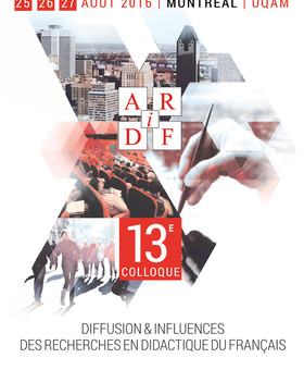 13e colloque de l'AiRDF