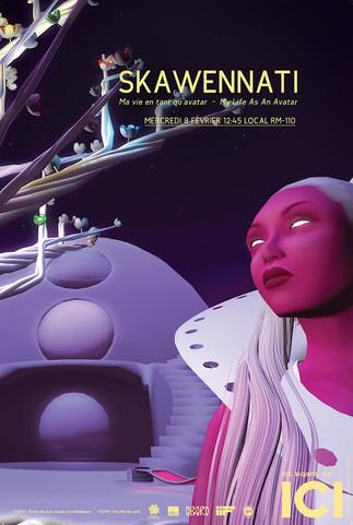 Conférence «Skawennati: Ma vie en tant qu'avatar»