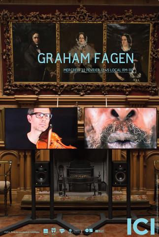 Conférence ICI: «Graham Fagen»