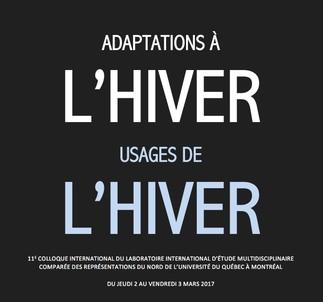 Colloque: «Usages de l'hiver / Adaptation à l'hiver»