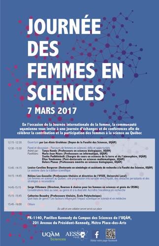 Journée des femmes en sciences