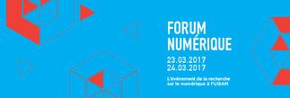 Forum numérique 2017