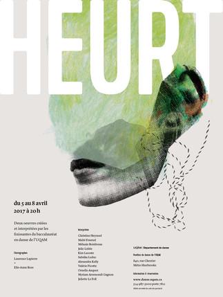 «HEURT»: Spectacle des finissants du Département de danse