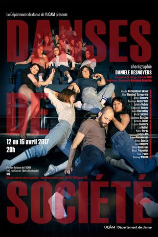 Spectacle: «Danses de société» de Danièle Desnoyers