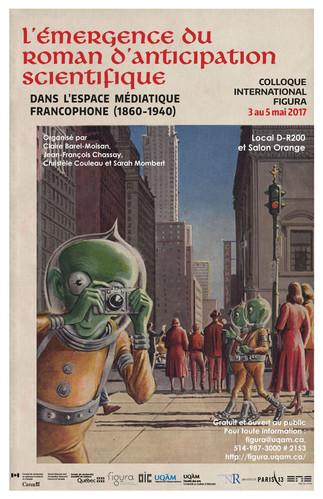 Colloque: «L'émergence du roman d'anticipation scientifique dans l'espace médiatique francophone (1860-1940)»