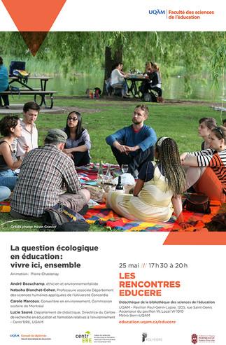 Les Rencontres Educere «La question écologique en éducation: vivre ici, ensemble»