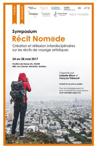 Symposium: «Récit Nom@de: Création et réflexion interdisciplinaires sur les récits de voyages artistiques»