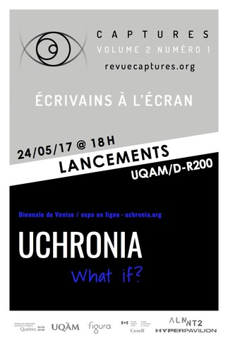 Lancements revue Captures / expo Uchronia | What if?