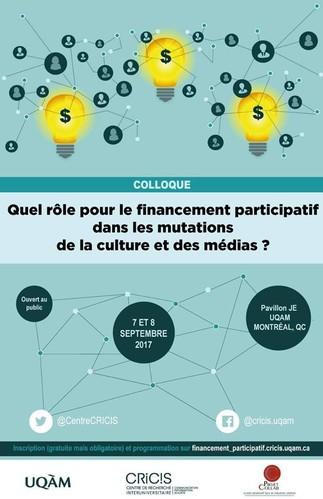Quel rôle pour le financement participatif dans les mutations de la culture et des médias ?