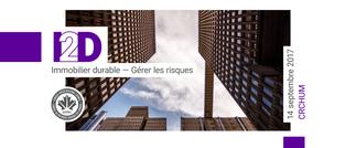 I2D | Immobilier durable : Gérer les risques
