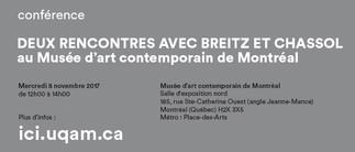 Deux rencontres avec Breitz et Chassol au Musée d'art contemporain de Montréal