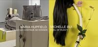 Vernissage des expositions de Maria Hupfield et Michelle Bui à la Galerie de l'UQAM