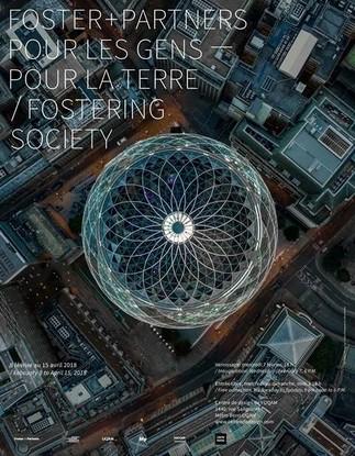 Exposition: «Pour les gens - Pour la Terre: Foster + Partners » au Centre de design