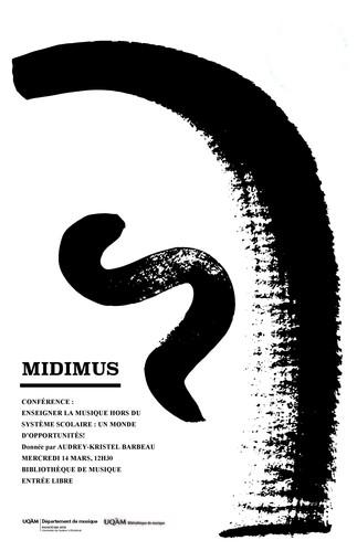 Conférence MidiMus: «Enseigner la musique hors du système scolaire: un monde d'opportunités!»