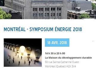 Symposium Énergie 2018 | Pratiques exemplaires en gestion de l'énergie d'immeubles au Québec