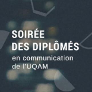 Soirée des diplômés en communication de l'UQAM