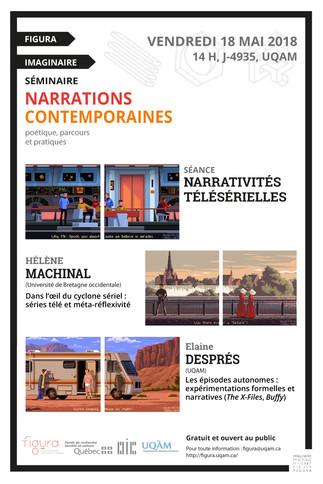 Séminaire Narrations Contemporaines: «Narrativités télésérielles»