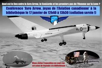 Conférence 'Avro Arrow, joyau de l'Aviation Canadienne'