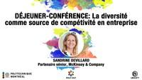 Déjeuner-conférence : La diversité comme source de compétitivité