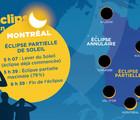 Observation de l'éclipse de Soleil du 10 juin 2021