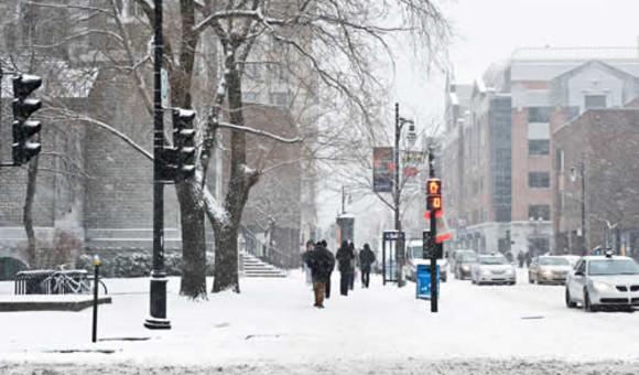 Atelier «Apprivoiser l'hiver au Québec»