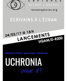 Lancements revue Captures / expo Uchronia | What if?