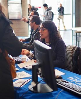 Kiosque d'accueil et Clinique techno - Rentrée d'automne 2017