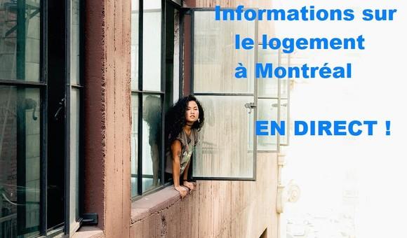 Webinaire «Informations utiles sur le logement à Montréal»