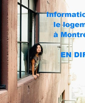 Webinaire sur le logement à Montréal (pour étudiants étrangers)
